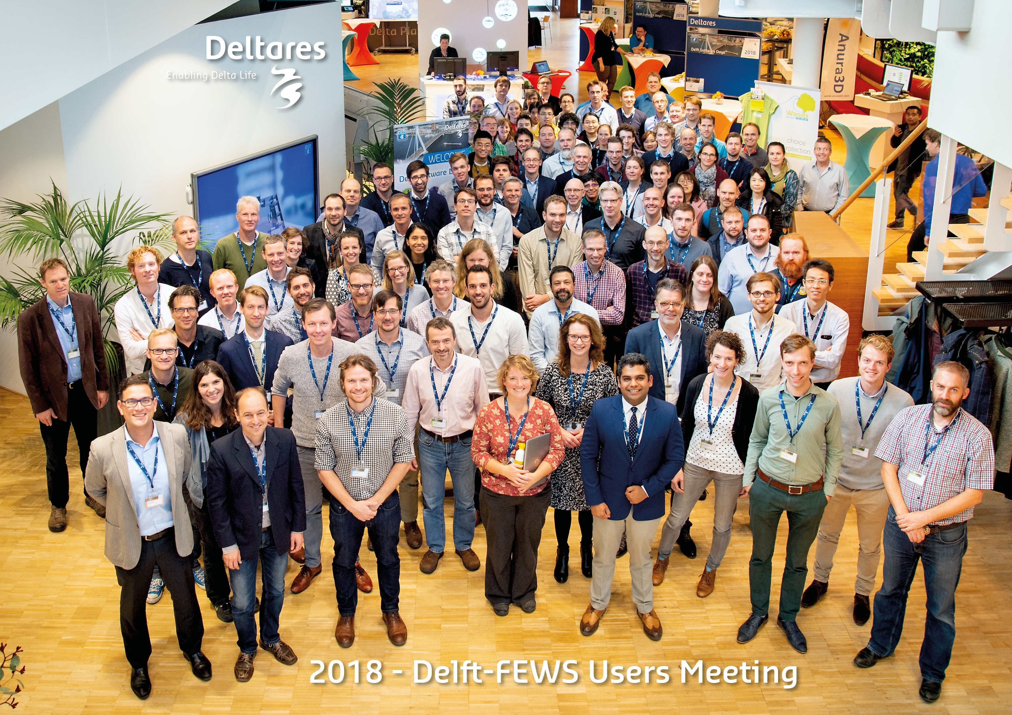 Delft-FEWS User Days 2018 - A great opportunity to keep in touch with people and learn about all the latest developments in Delft-FEWS